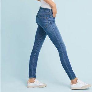 Anthropologie Pilcro Em High Rise Skinny Jeans